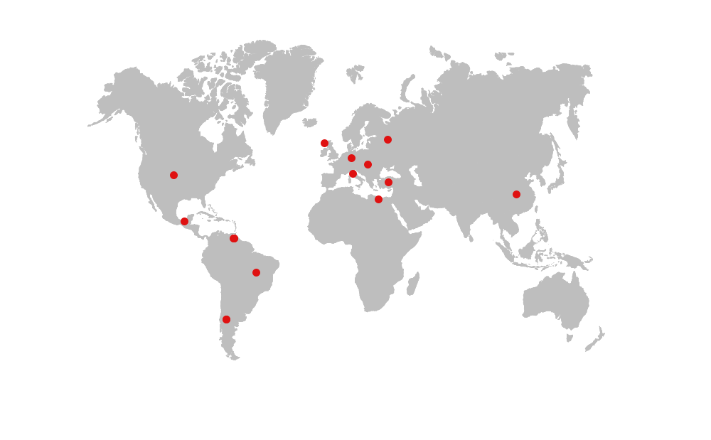 TYRE PLANTS IN THE WORLD